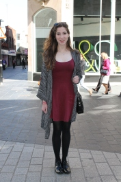 Cardigan – Forever 21 Dress – New Look Shoes – Clarks Bag – TK Maxx