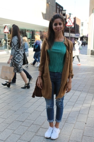 Trainers – Scuh Jeans – Topshop Top – Topshop Jacket – H&M