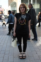 Jeans – Topshop Shoes – ASOS Top – Bigger than Jesus Clothing (http://biggerthanjesus.bigcartel.com) Necklace – New Look