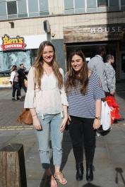 Left (Shannon) Top – Zara Jeans – River Island Shoes – Primark Bag – Primark Right (Mia) Top – Primark Jeans – Topshop Boots – River Island Bag – River Island