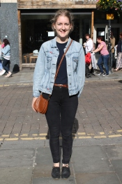 Jacket - Miss Sixty Top – Topshop Jeans – Urban Outfitters Shoes - Clarks