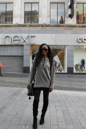 Jumper – Primark Bag – Zara Boots – Boutique Sunglasses - Goess