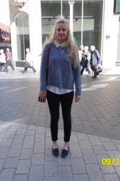 Jumper – H & M Shirt – Primark Jeans – River Island Shoes – M & S