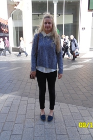 Jumper – H & M Shirt – Primark Jeans – River Island Shoes – M & S
